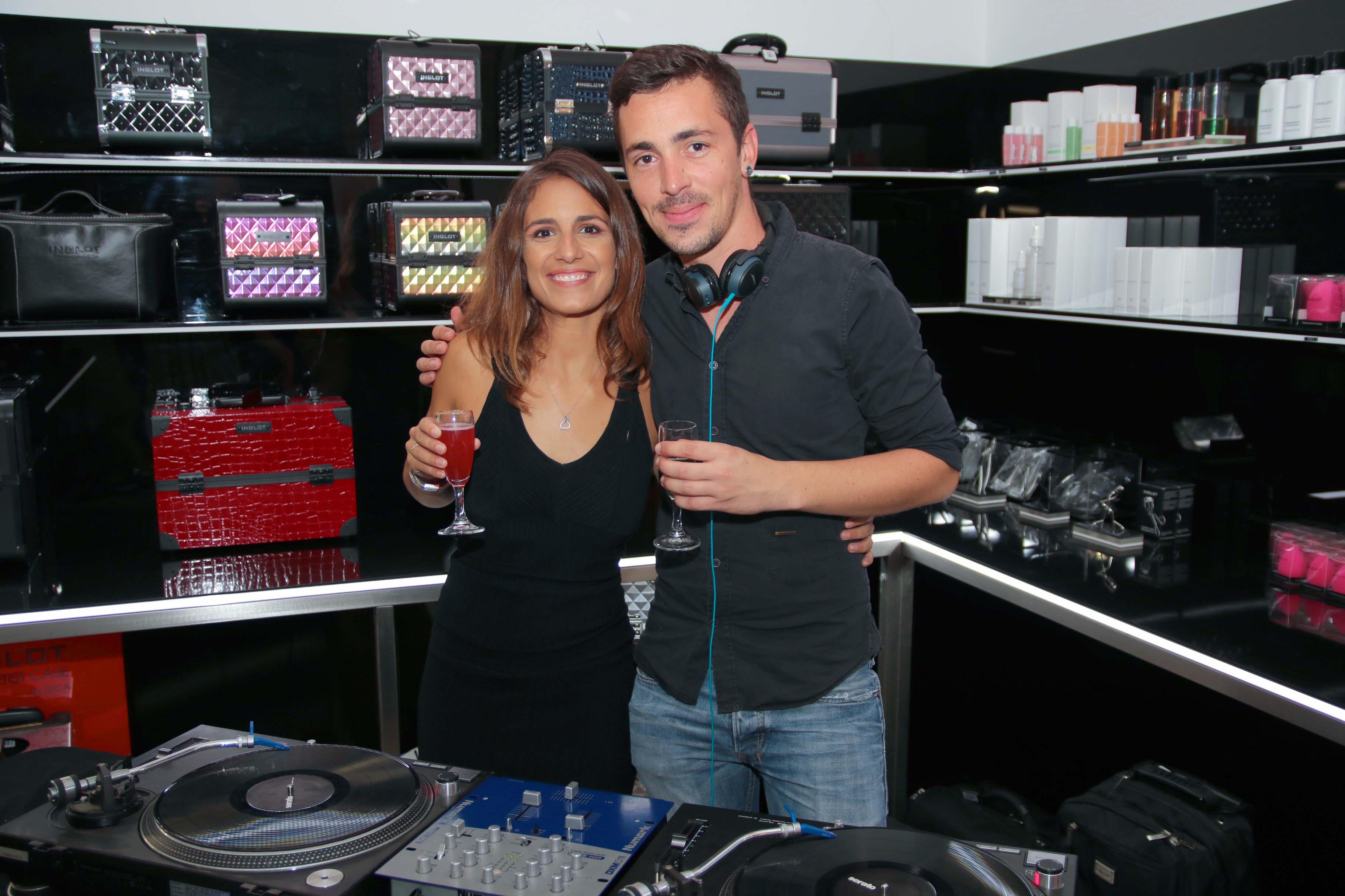 Anais avec DJ Clotaire Hugues
