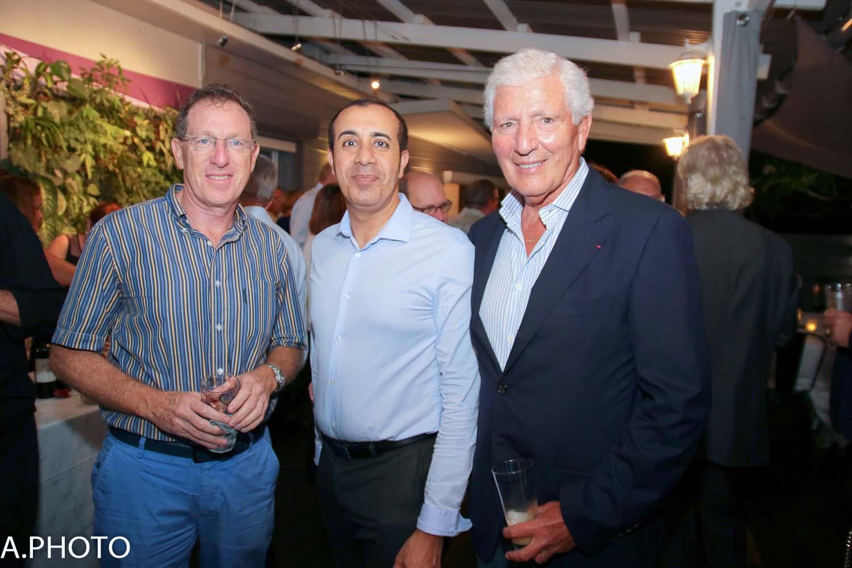 Patrick Aouate, Fabrice Hanni, et Jean-Pierre Haggai