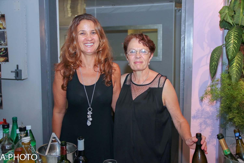 L'épouse d'Yves Piednoel et sa mère