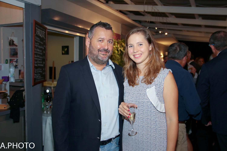 Hervé Charlanes et sa fille