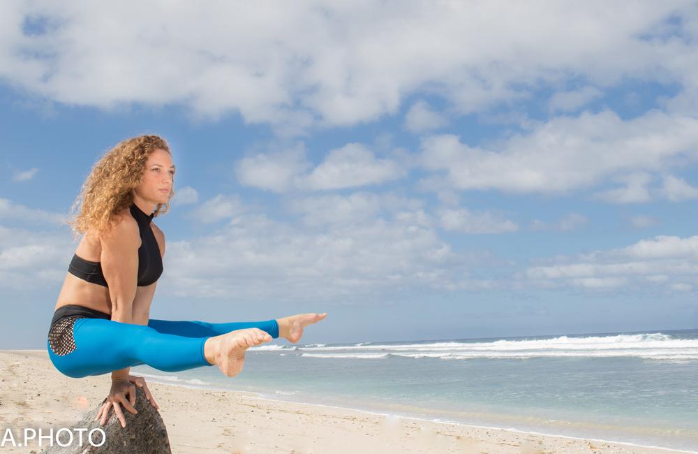 Exercices à la plage...