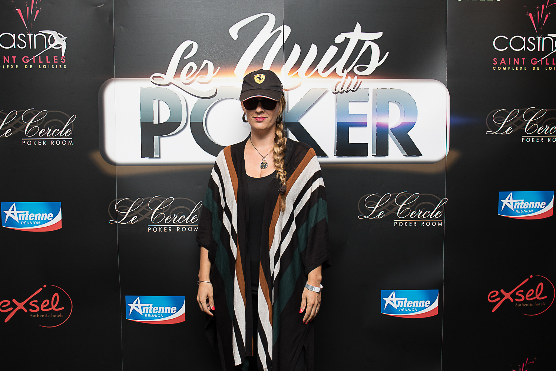 Elle a participé aux Nuits du Poker...