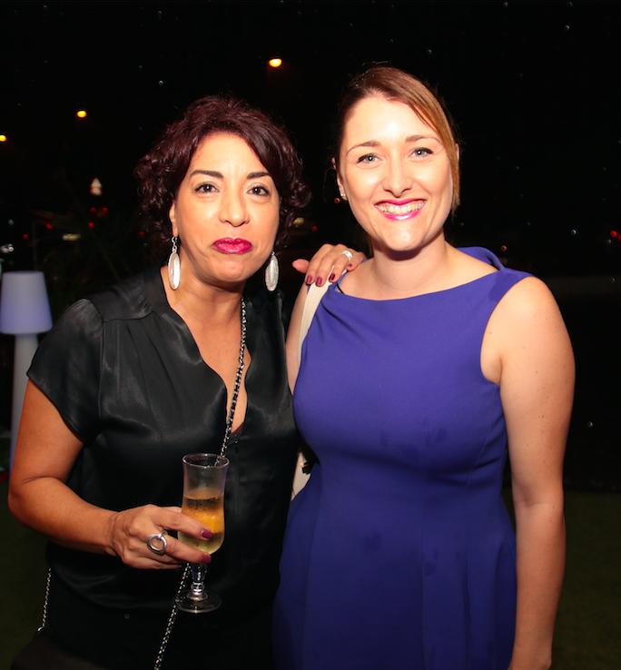 Jamila Beghidja assistante sociale et Laetitia Le Fur diététicienne