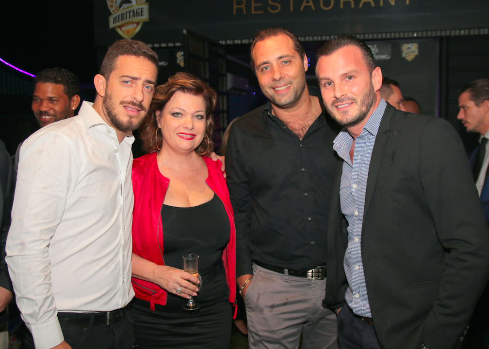 Grégoire Manes, Jeanne Loyher, Juan Castillo et Nicolas Lombard