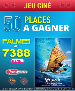 Vaiana franchit la barre du million d'entrées en France