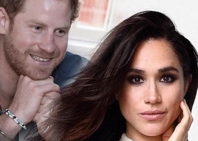 Une première photo du prince Harry avec Meghan Markle publiée