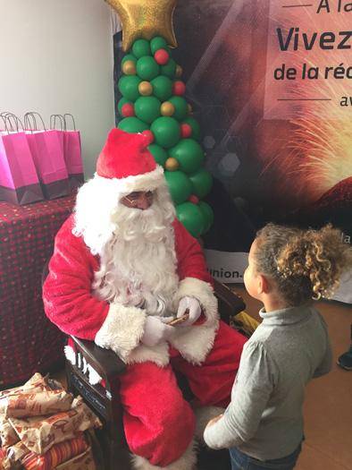 La rencontre avec le Père Noël reste un moment magique