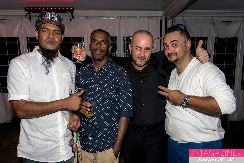 Atep et Sopra Sound (à droite) avec des invités