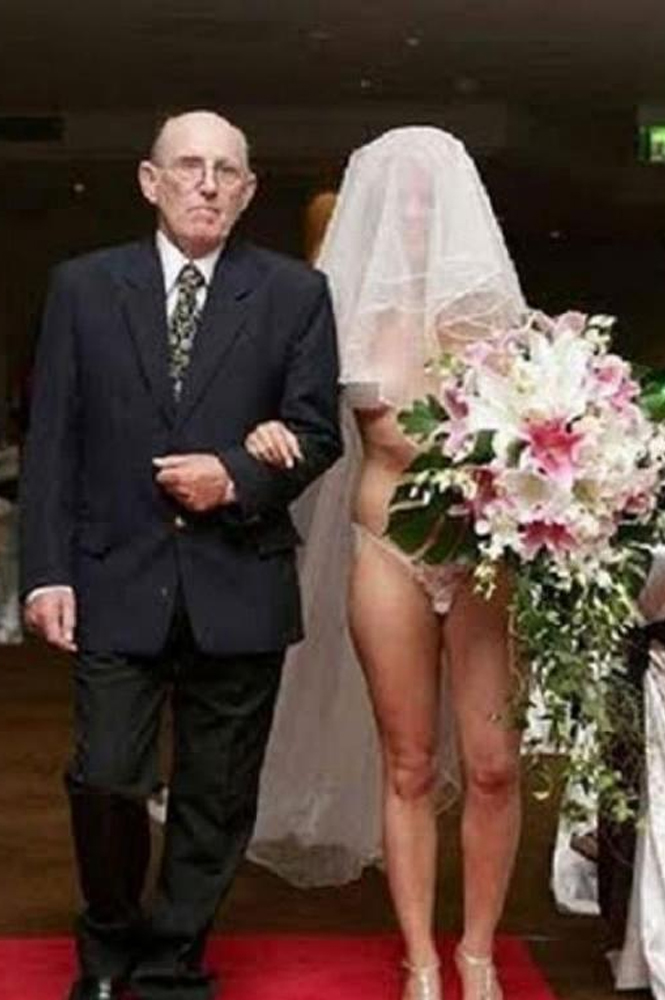Les tenues de mariage les plus improbables