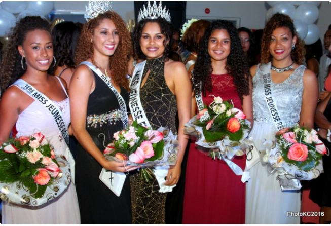 Shanaz Hoareau élue Miss Jeunesse Réunion Nord 2016