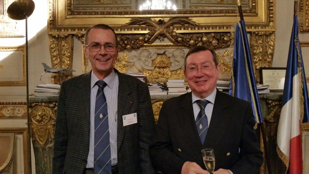 Bernard Salva et Mario Faure