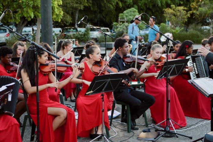 Les jeunes artistes Réunionnais