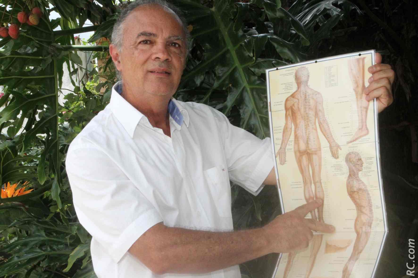 Bernard Barret, infirmier de formation, passionné de bien-être et d'un certain art de vivre
