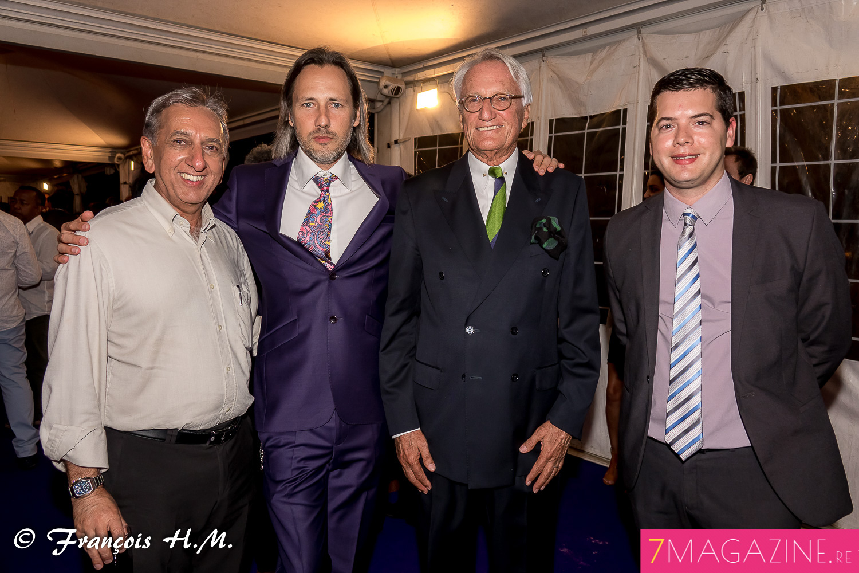 Aziz Patel, Frédéric et Jean-François Drotkowski, et Grégoire Cordeboeuf