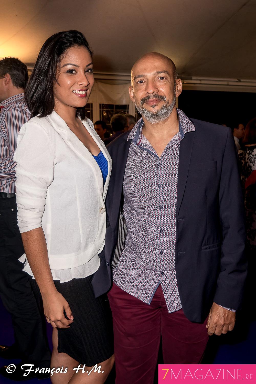 Coralie Jogama et Christophe Annette de la Cinor