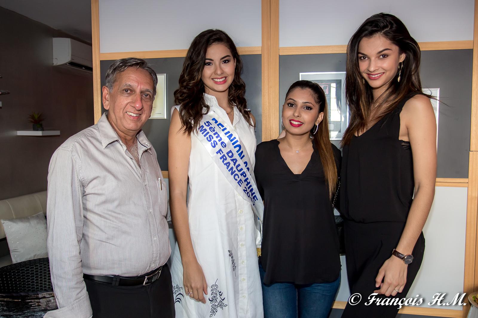 Aziz Patel, Ambre N'guyen, Hana Badat et Azuima Issa