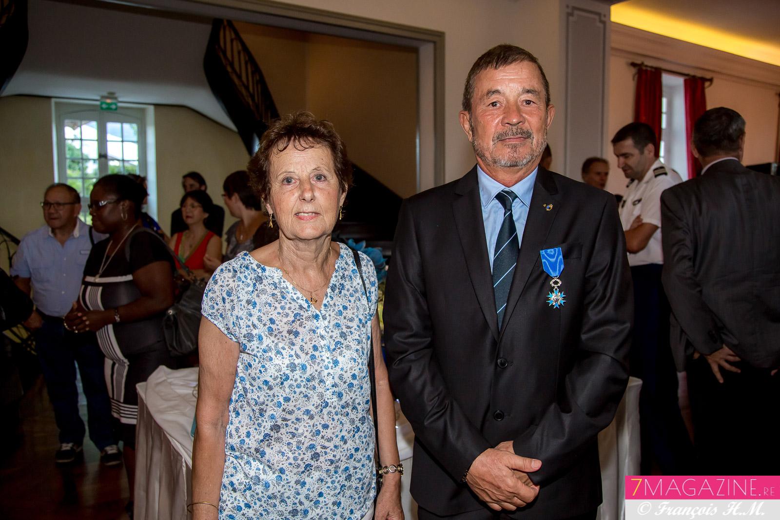 Une photo rare: Jacques Laravine et son épouse Lise