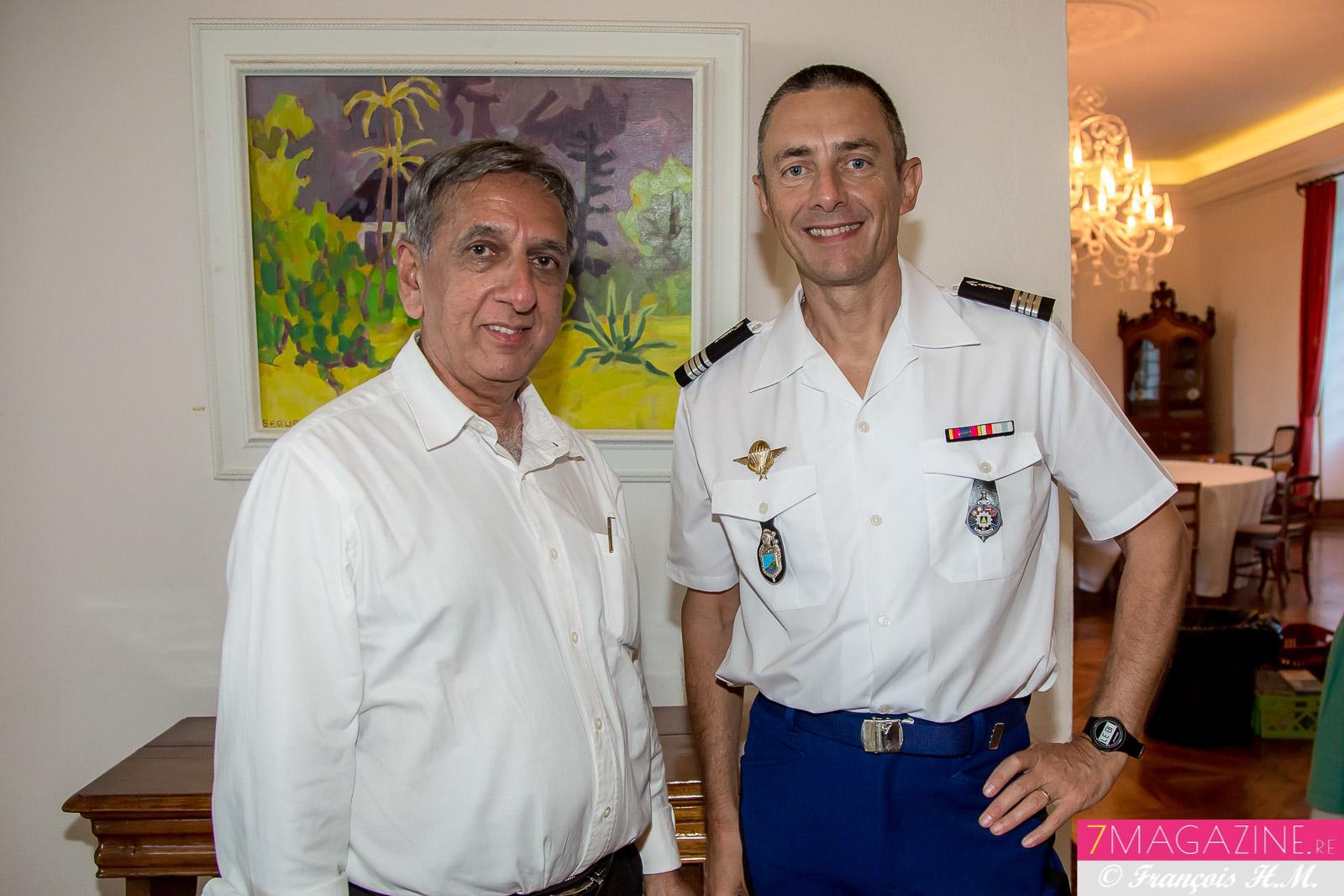 Aziz Patel et Laurent Frutos