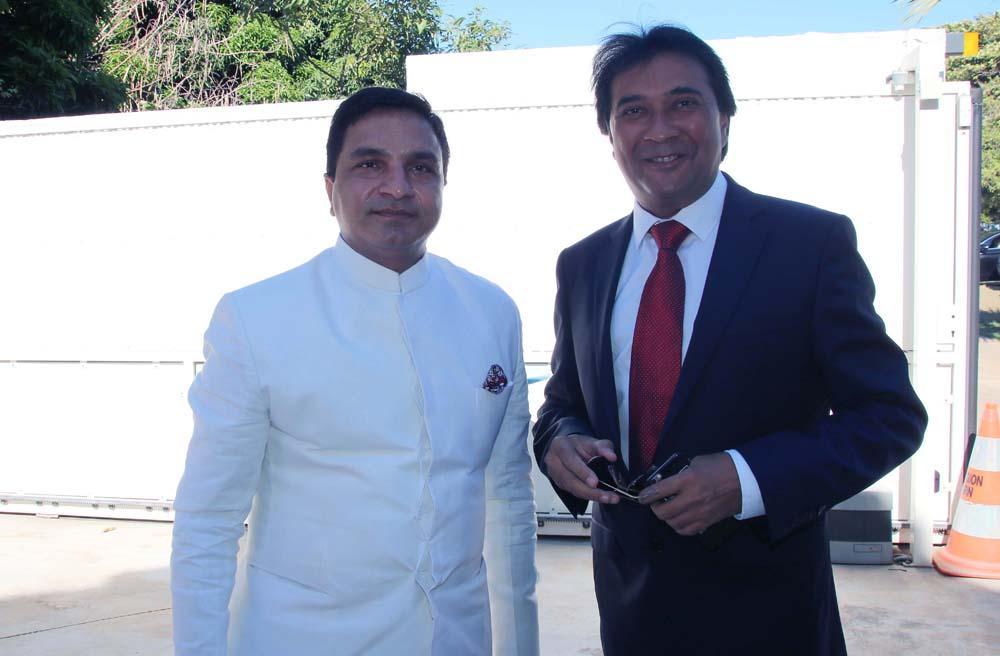 Sanjeew Bhati et Sanjay Audavjee, bijoutier