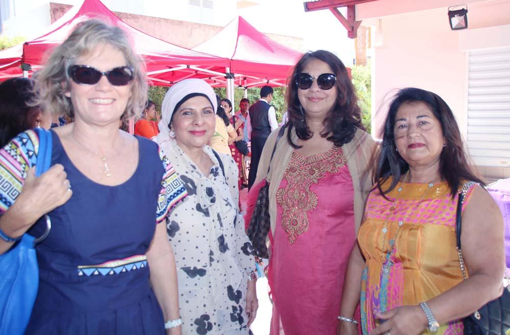 Abéda Patel, Razia Locate et Rabia Badat