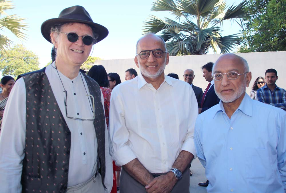 René-Claude Pestel, Iqbal Ingar et Houssen Amode
