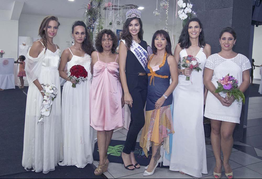 Showroom des Mariages 2017: Miss Réunion en guest-star