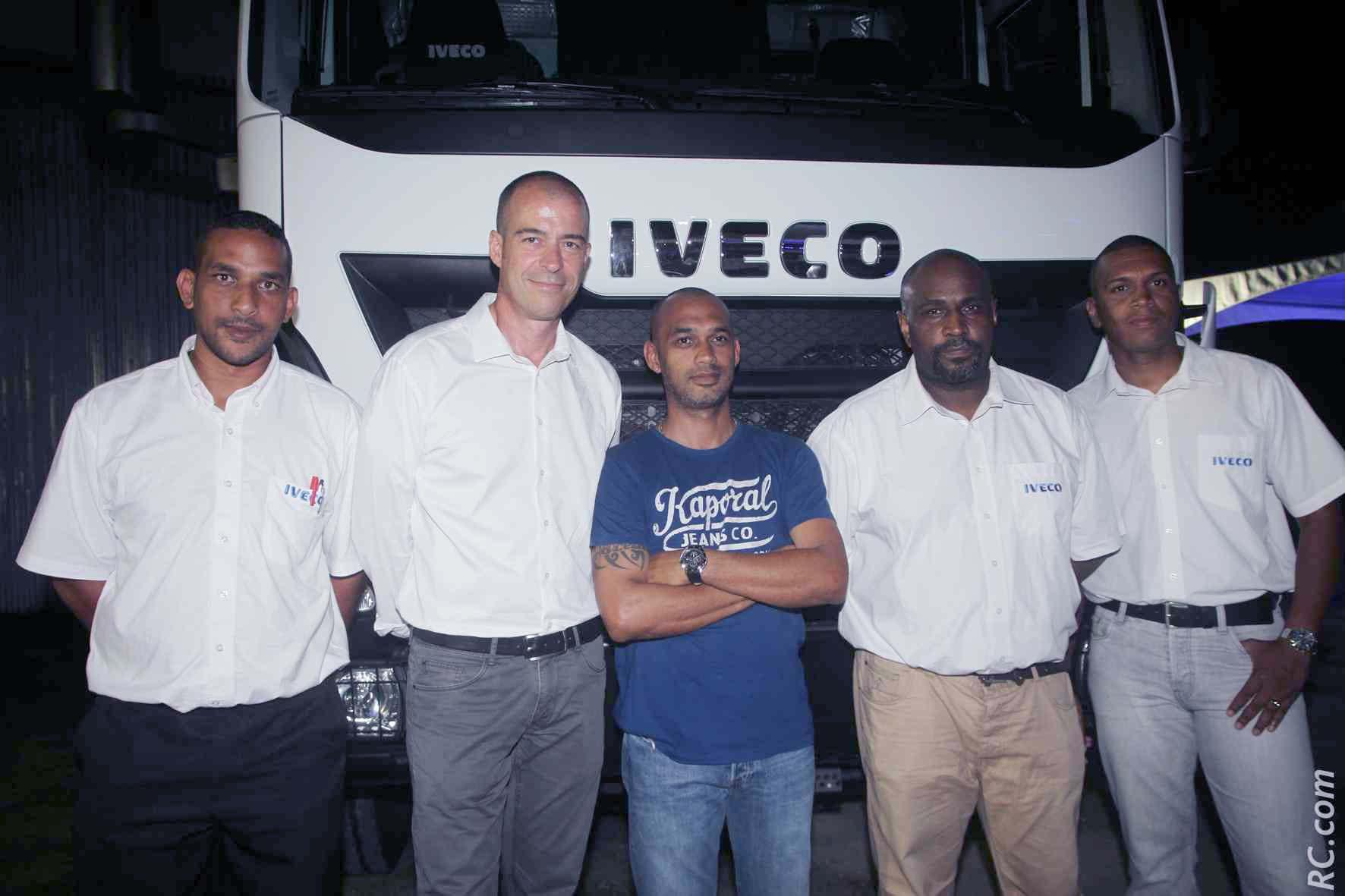 L'équipe Bamytrucks Iveco - Service pièces détachées