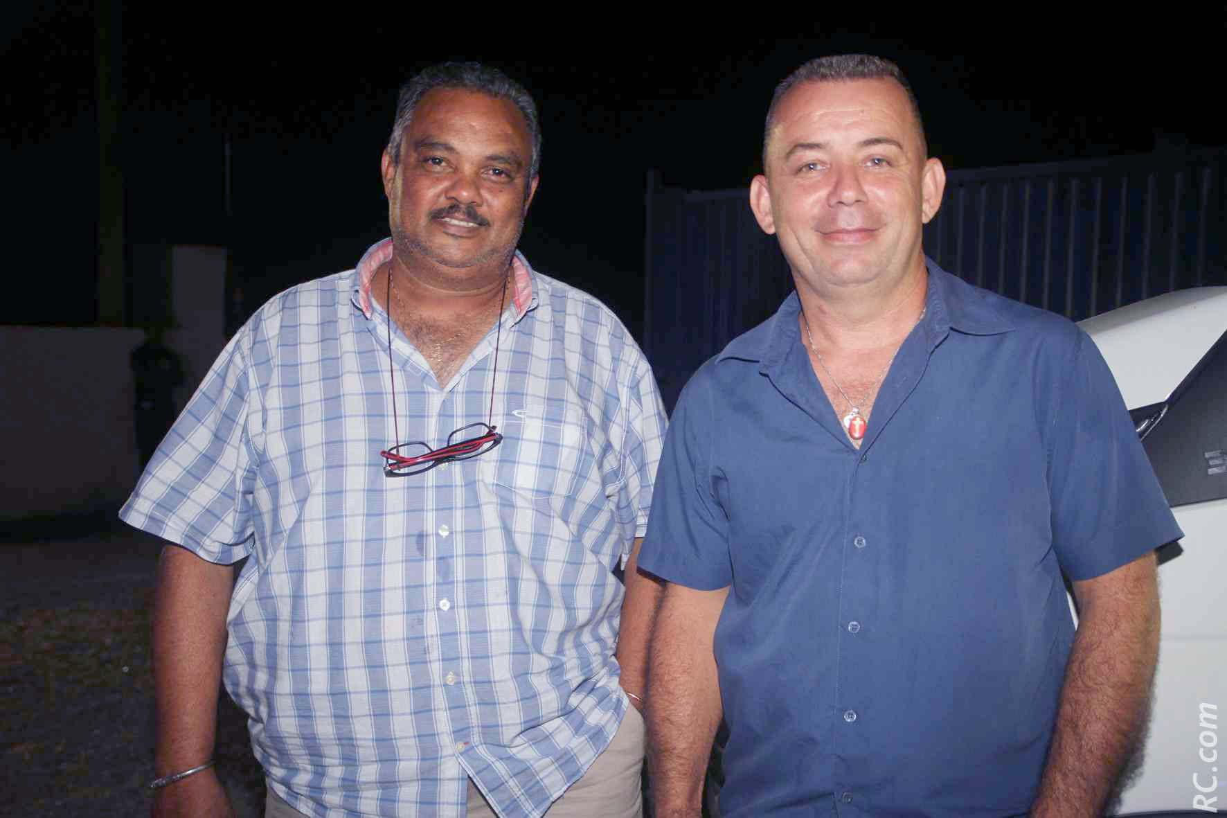 David Kichena de Groupement Kichena, et Patrice Mussard