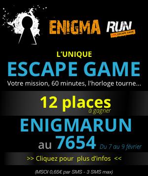 EnigmaRun : Une véritable course contre la montre !