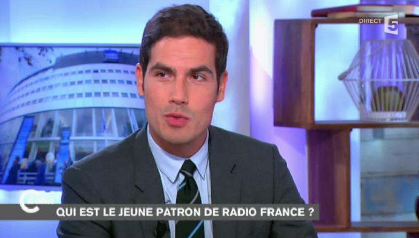Photo: capture d'écran France 5 , C'est A Vous - Mathieu Galet