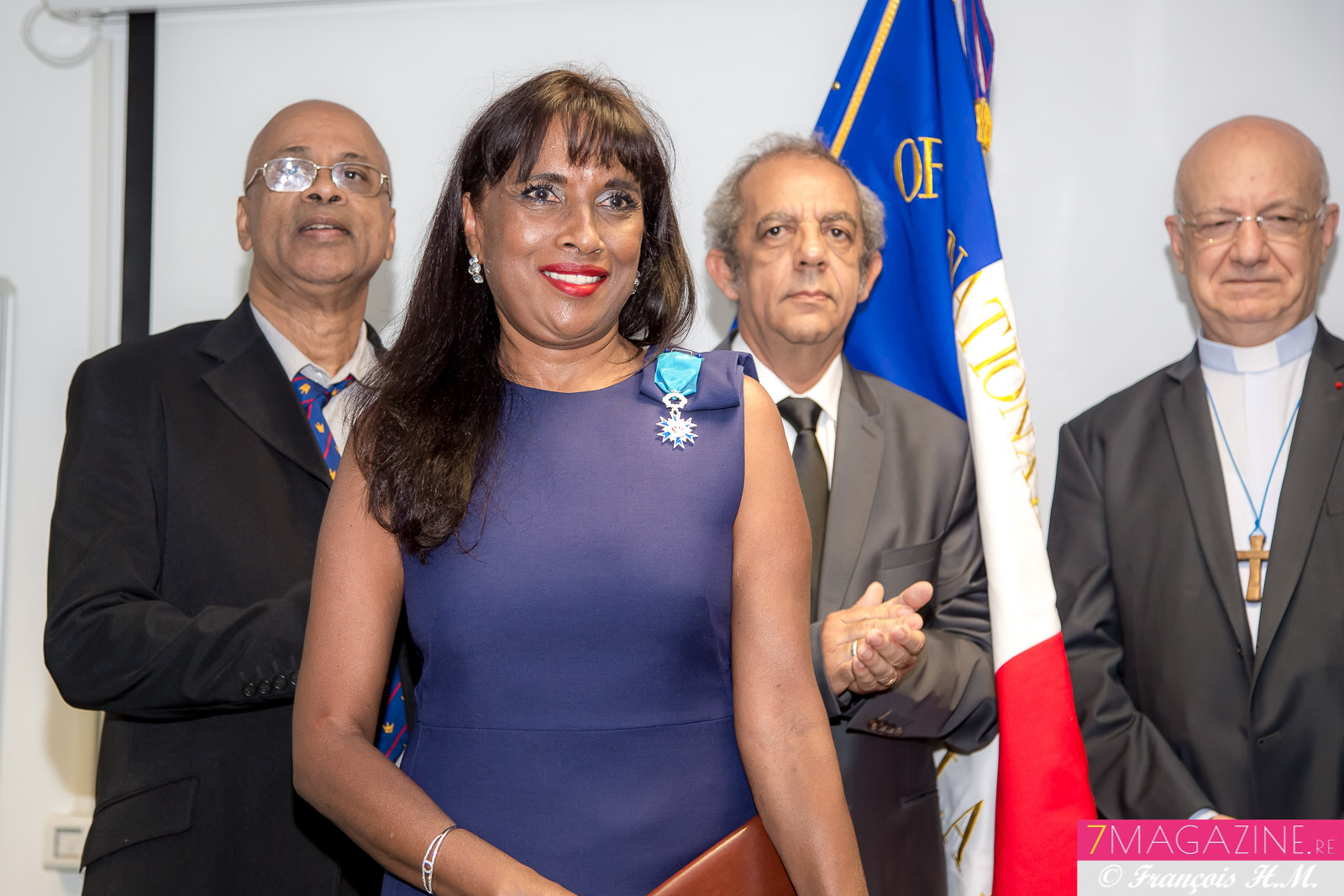 Ida Mag Camalon, Chevalier de l'Ordre National du Mérite