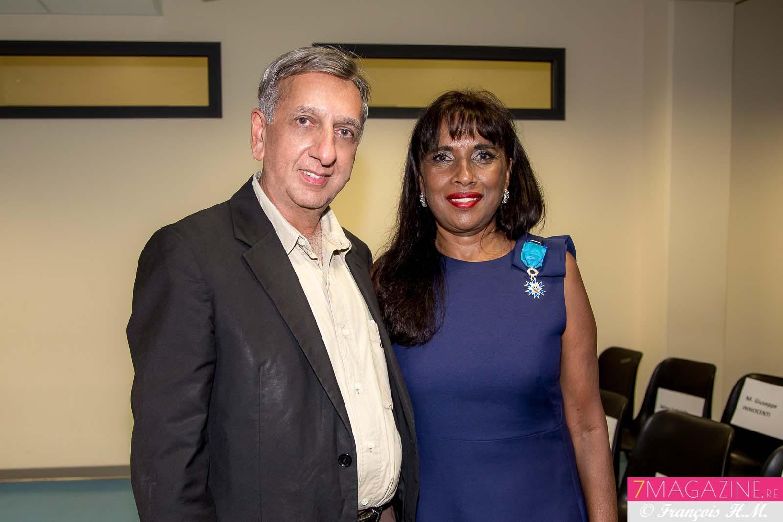 Aziz Patel et Ida Camalon