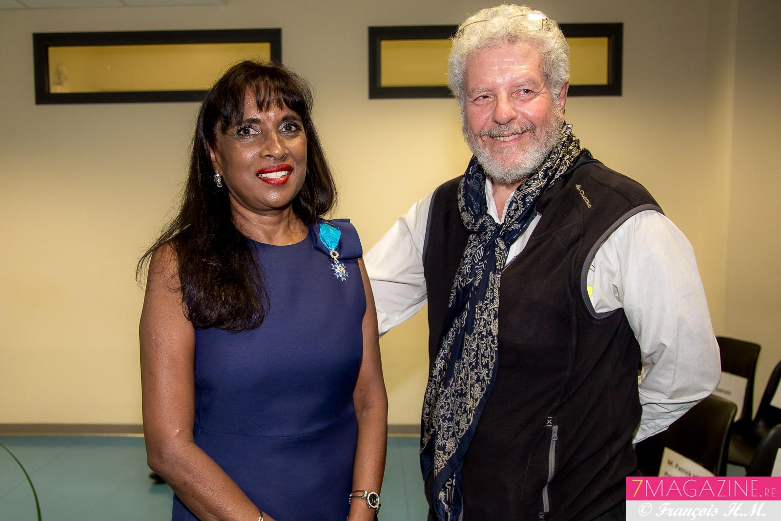 Ida Camalon et Guy Pignolet
