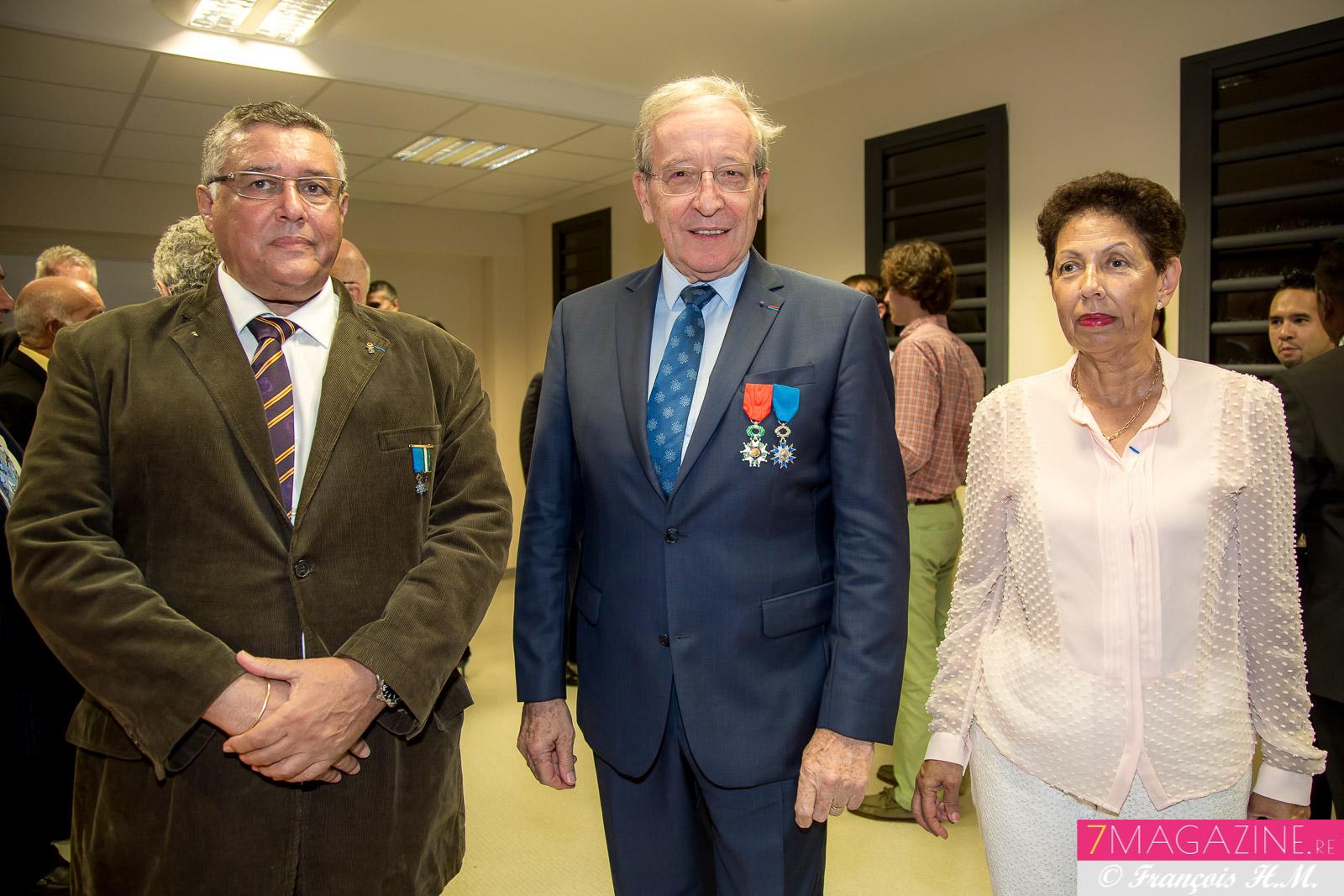 Jean-Pierre Richer, Patrick et Nicole Hervé