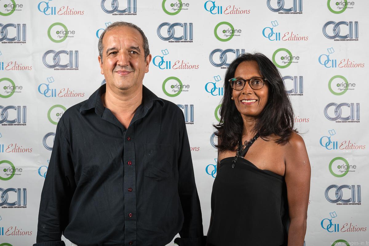 Daniel Lacas de la CINOR et son épouse