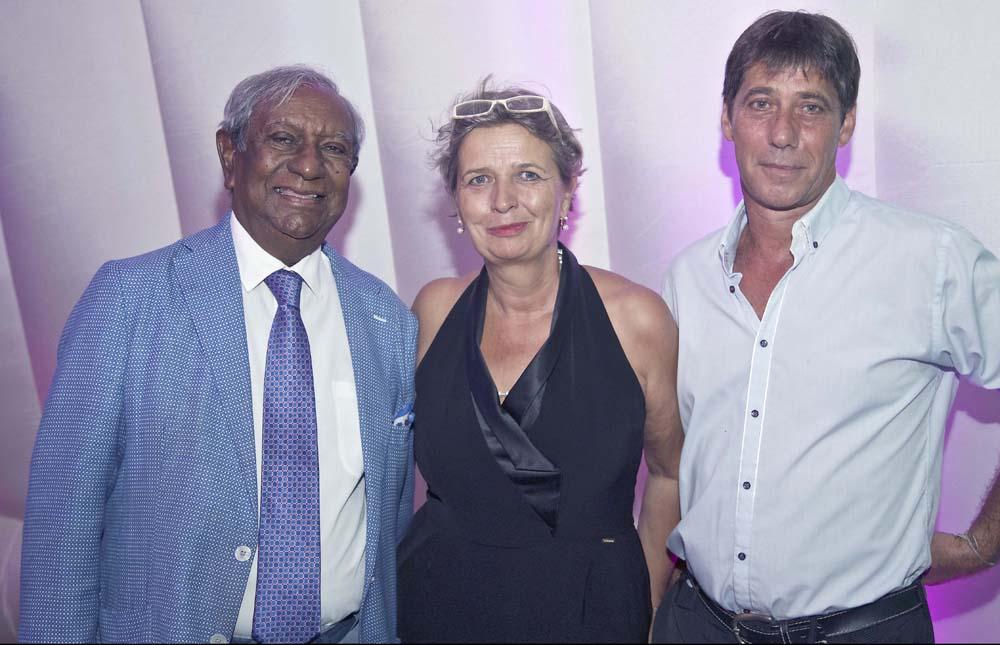 Jean-Paul Virapoullé, Myriam Boullay et son époux Stéphane