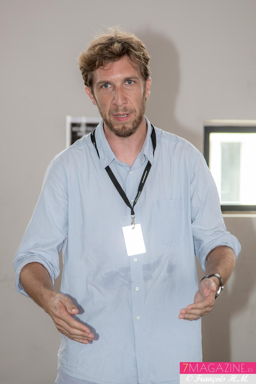 Raphaël Buhot, le directeur de la Cité des Arts