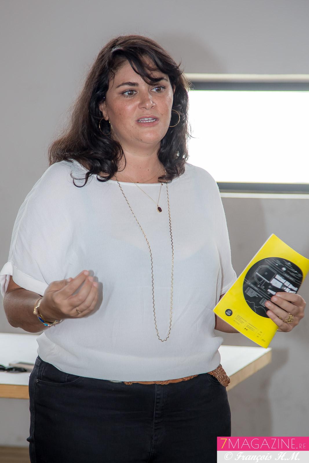 Virginie Michel est la directrice de production de la Cité des Arts