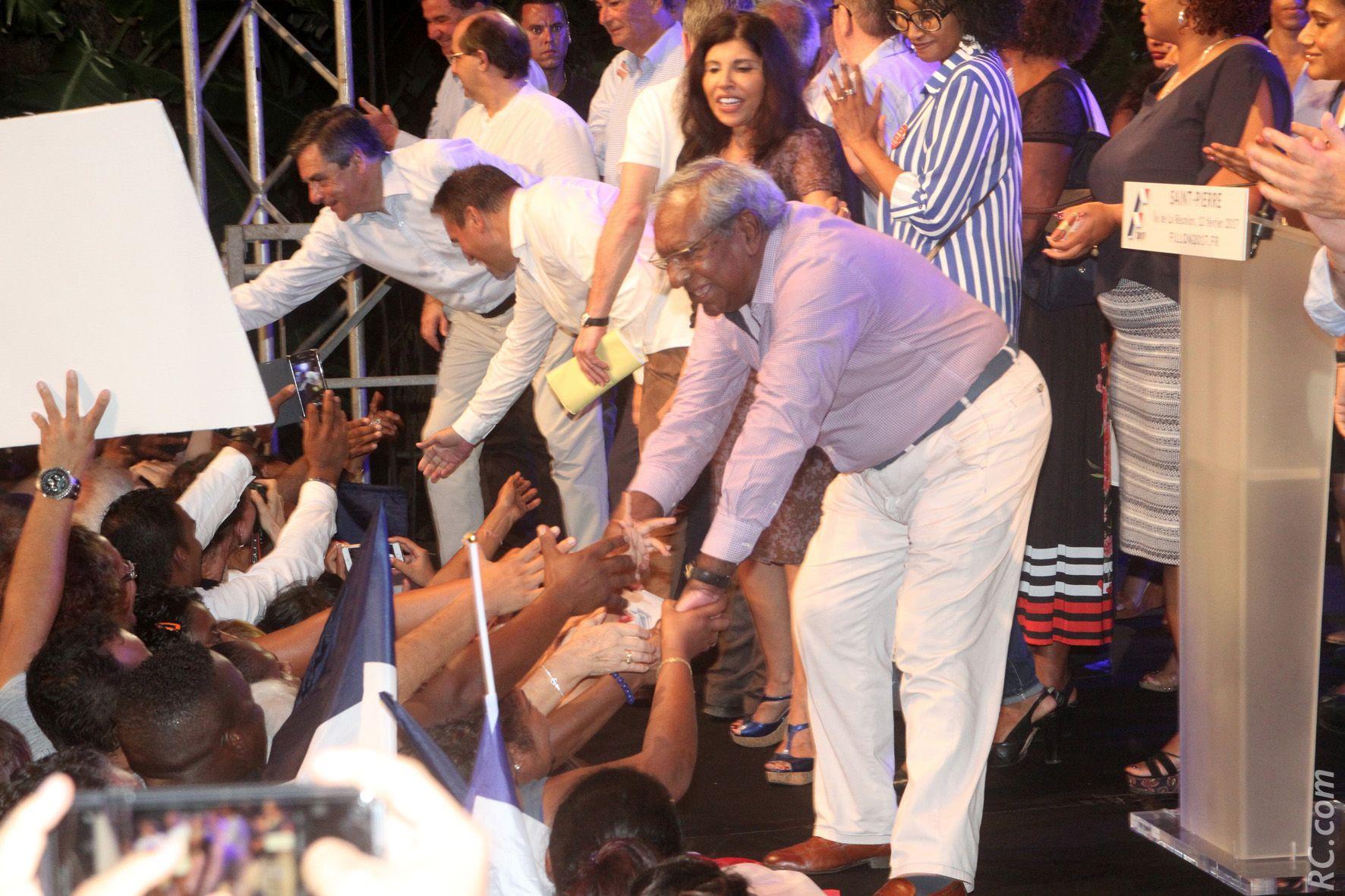 Jean-Paul Virapoullé et ses fans
