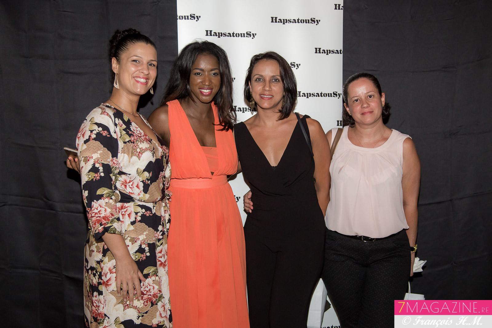 Hapsatou Sy à La Réunion pour lancer sa marque