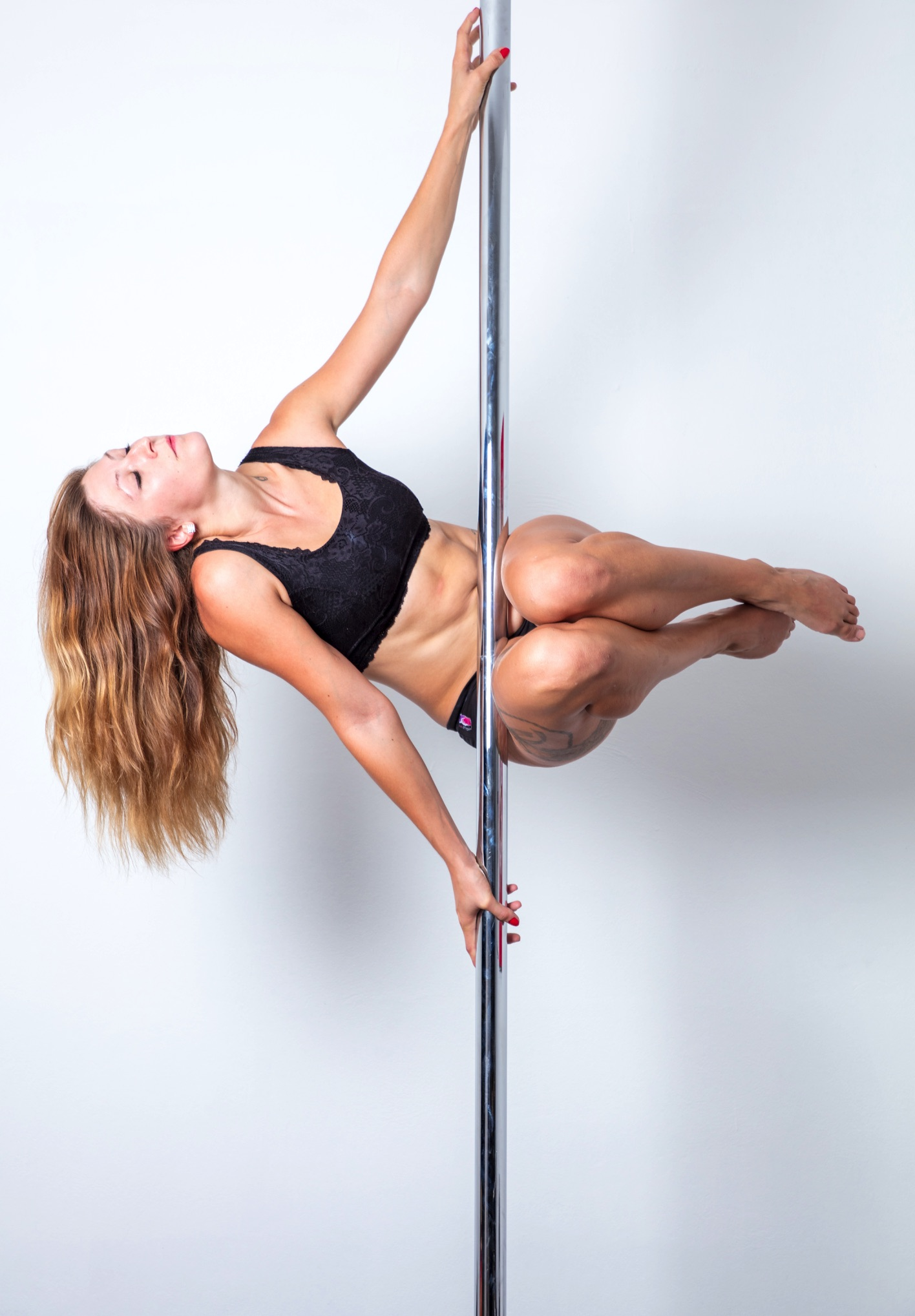 Aimée Leclerc : le pole dance son métier, son évasion