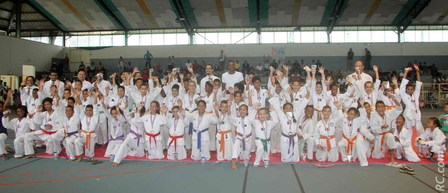 Les compétitions du 19 février ont rassemblé près d'une centaine de concurrents