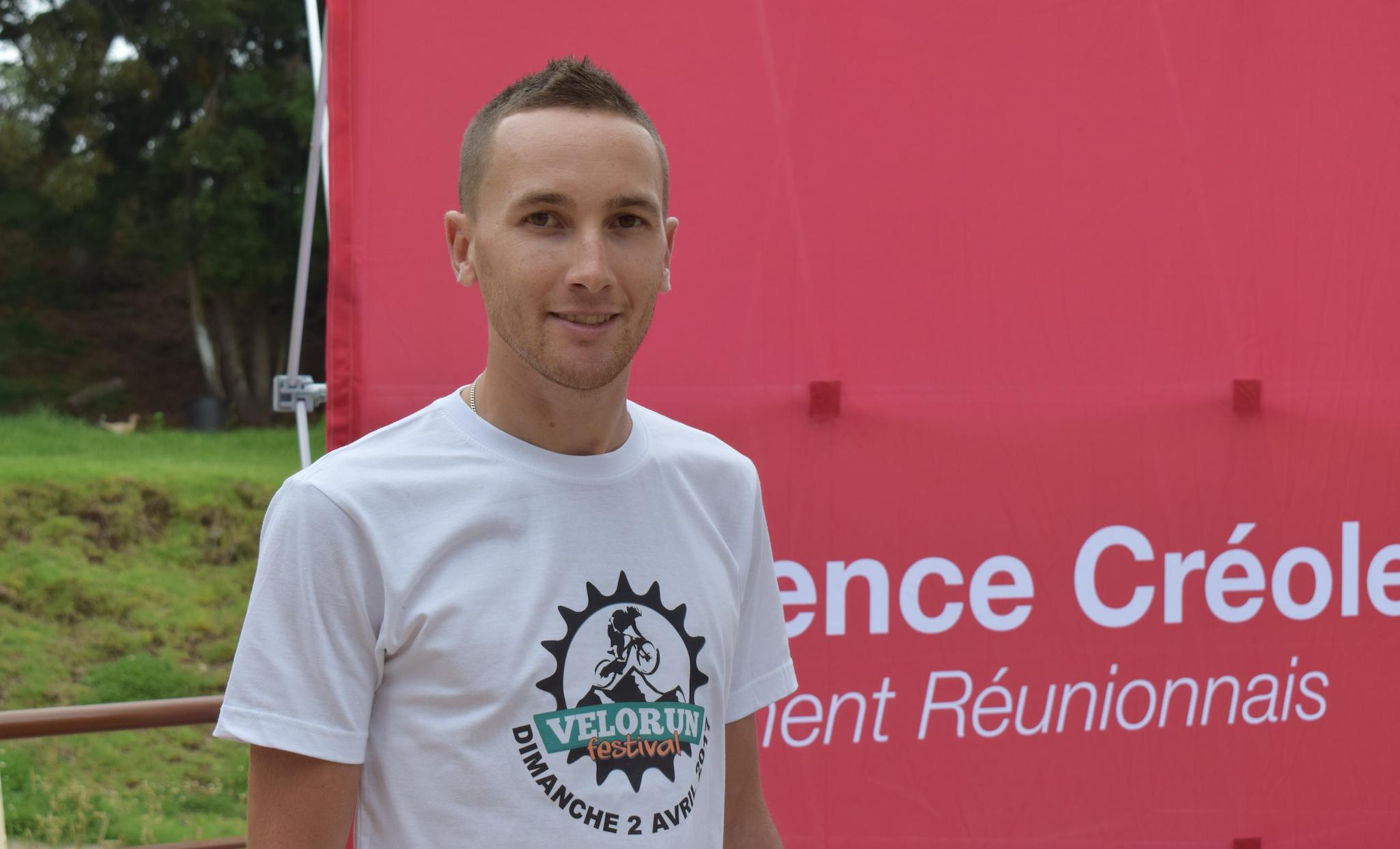 Grégory Maillot, le nouvel homme fort du VTT à La Réunion