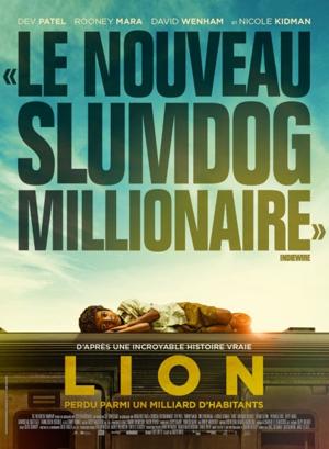 """[JEU] La sortie du mercredi : LION """"Le Nouveau Slumdog millionaire"""""""