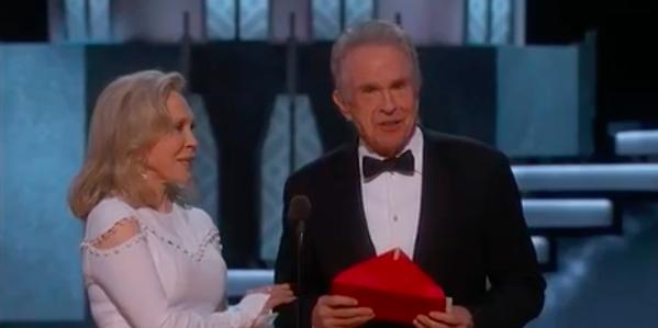 Enorme bourde aux Oscars