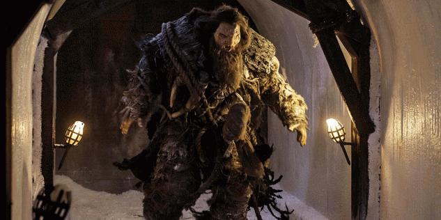 Neil Fingleton dans l'épisode « The Watchers on the Wall » de la saison 4 de Game of Thrones