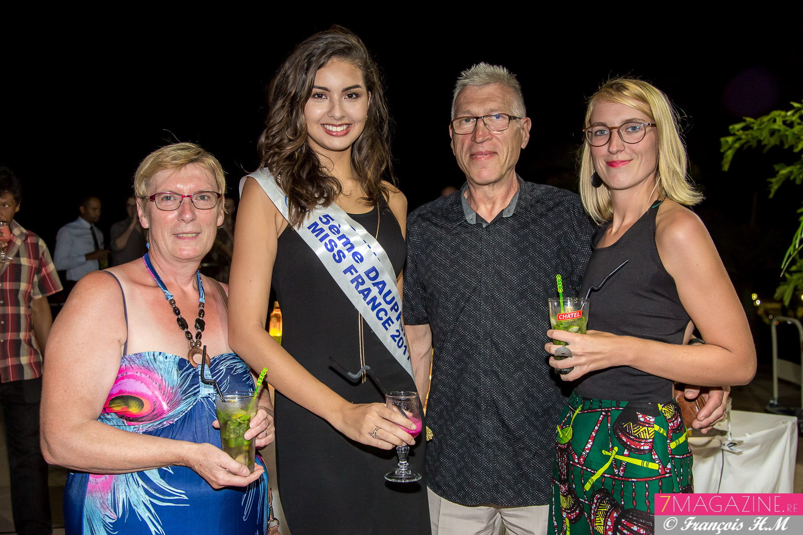 Miss Réunion à la Swaré Kréol de l'IAE