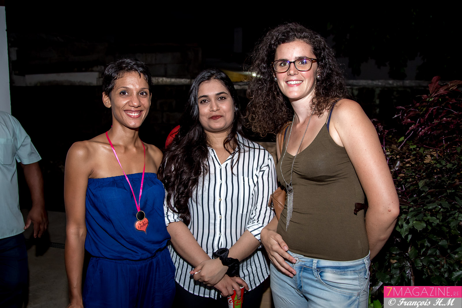 Valérie Clain-Hoareau, psychologue,  Vandana Ramaco, stagiaire en psychologie, et Emilie Nénot : psychologue clinicienne de l'ARAR