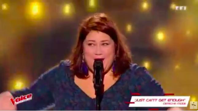 Audrey la Réunionnaise séduit le jury de The Voice