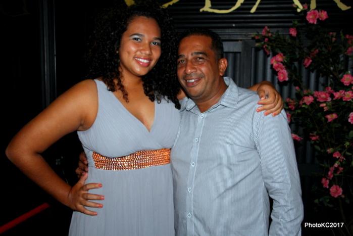JF Bovalo et sa fille Cassandre